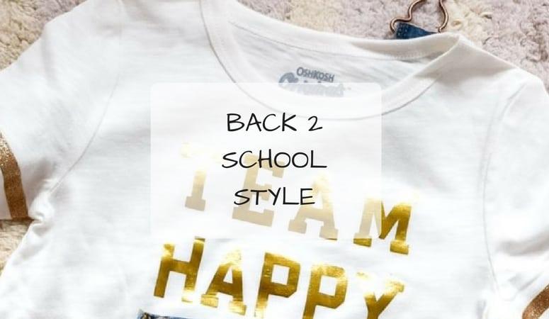 Back 2 School Style