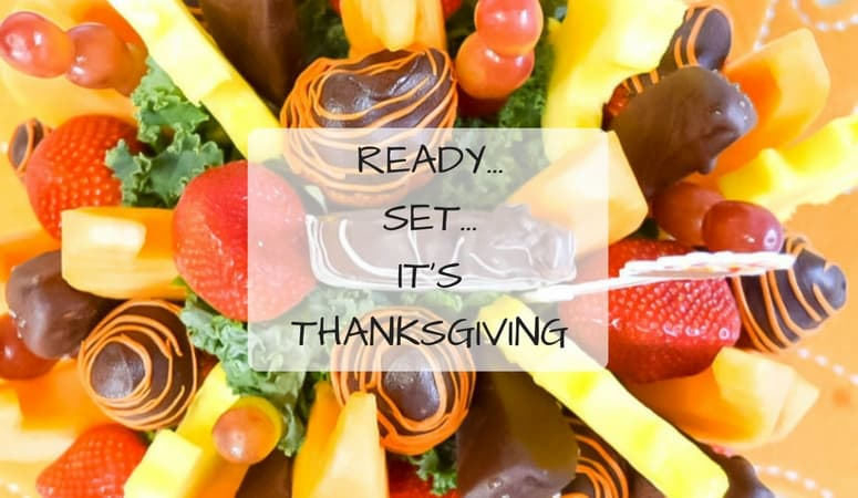 Ready…Set…It's Thanksgiving