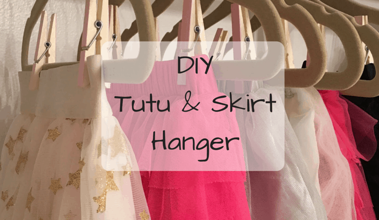 DIY Tutu & Skirt Hanger