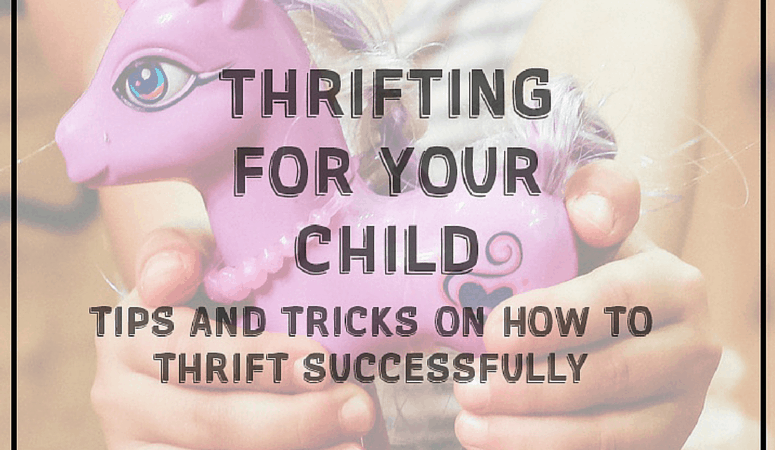 Thrifting For Your Child