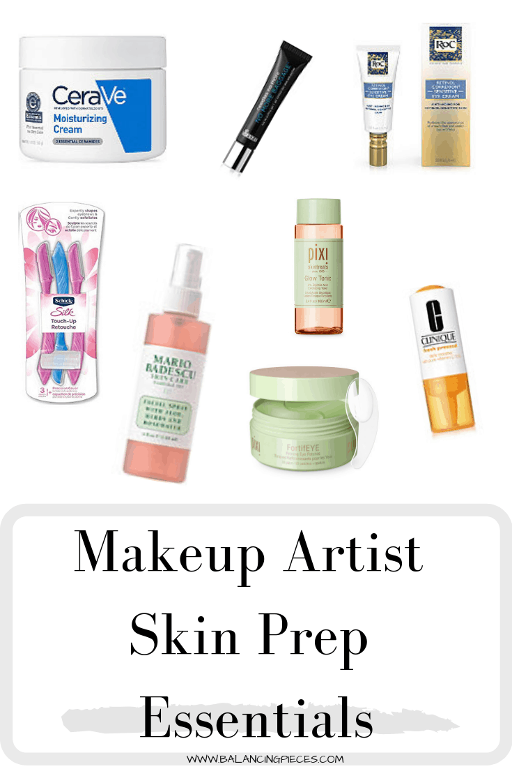 Makeup Artist Skin Prep Essentials