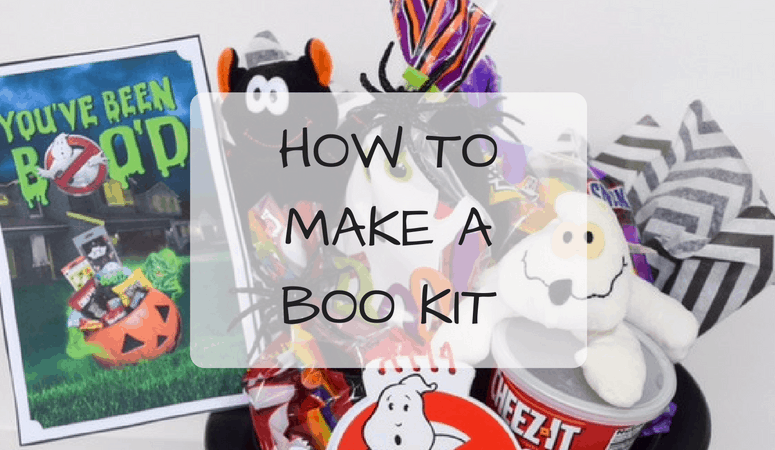 How To Make A BOO Kit