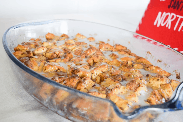 The Best Cinnamon Roll French Toast Bake