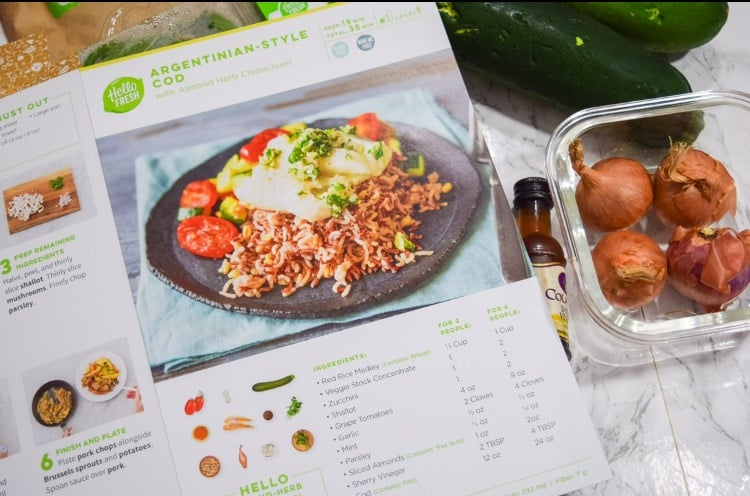 HelloFresh Meal Review