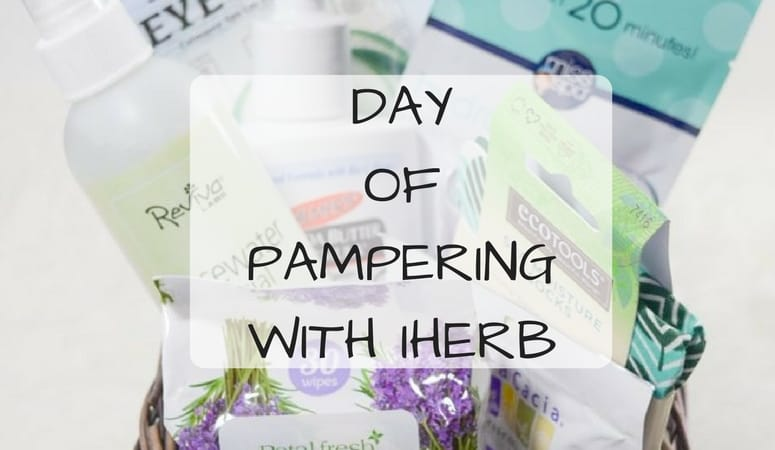 Day Of Pampering with iHerb