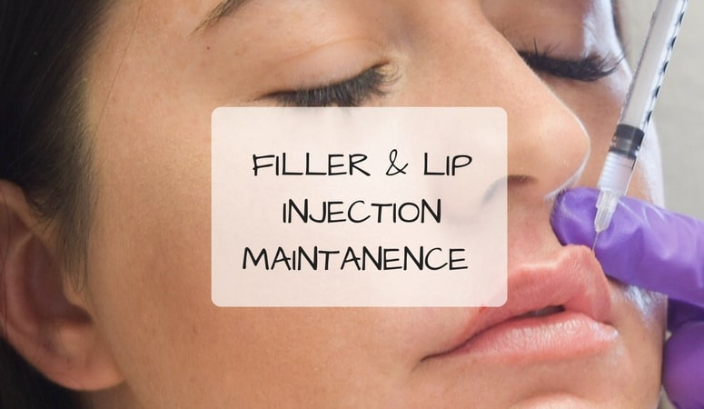 Filler & Lip Injection Maintanence