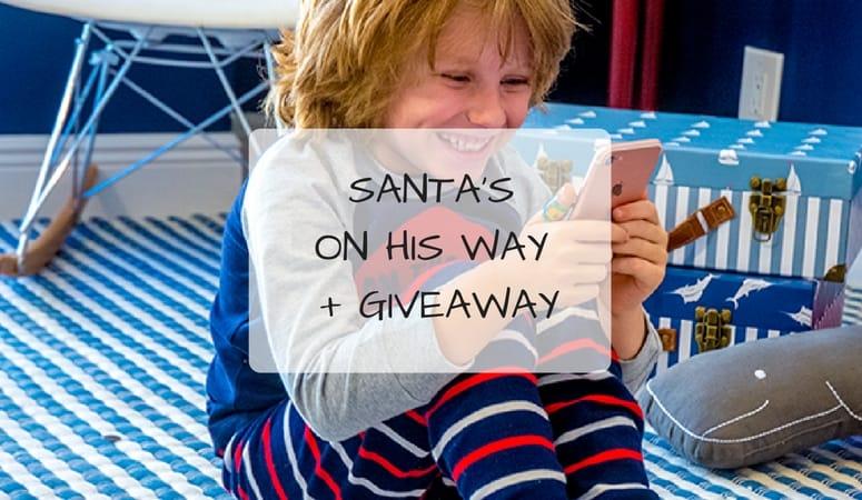 Santa's On His Way + Giveaway