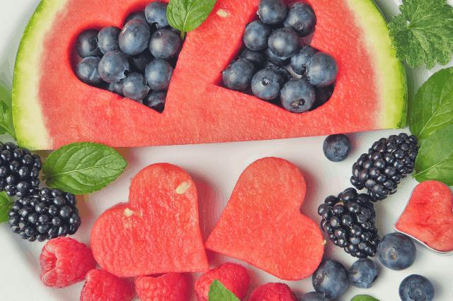 Watermelon, Blueberry, & Feta Salad