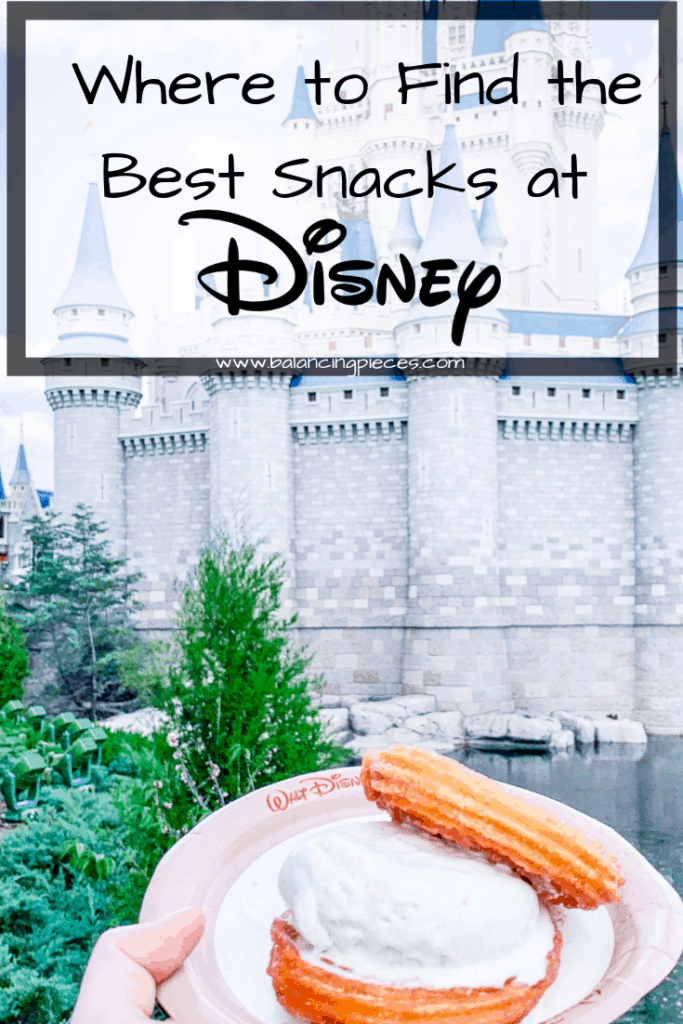 Orlando Lifestyle Blogger, Kristen from Balancing Pieces is sharing where to find the best snacks at Disney World.