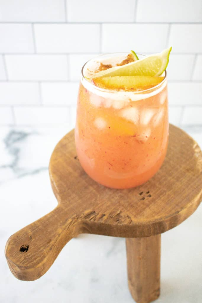 Peachy Summer Moscow Mules